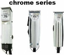 Oster Chrome Series Clippers and Trimmers Choose from 76 Fast Feed or T finisher