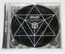 2NE1 - 2NE1 New Album : CRUSH (BLACK Edition) CD+Booklet+Photocard+Poster K-POP