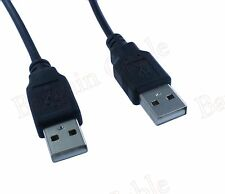 Wholesale USB 2.0 Type A Male to Type A Male Cable Black 1ft 3ft 6ft 10ft 15ft