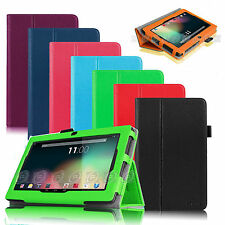 "Folio Case Cover For Dragon Touch Y88,A13 Q88,Zeepad, NORIA T2 7"" Android Tablet"