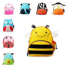 Children School Bag Cute Cartoon Animal Backpack Shoulder Kindergarten Schoolbag