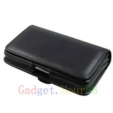 Belt Leather Skin bag Pouch Case Cover for Various Cell Phones Phablet 2014 1st