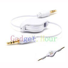 CAR 3.5mm JACK AUXILIARY CABLE STEREO ADAPTER for Cell Phones Phablet 2014 1st