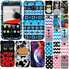 For T-Mobile Alcatel One Touch Evolve 5020T Case Accessory Hard Cover Zig Zag