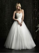 New White Wedding dress Bridal Gown Evening Stock size: 6-8-10-12-14-16