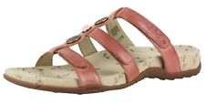 WOMEN'S TAOS PRIZE LEATHER SANDALS COLOR: DUSTY ROSE