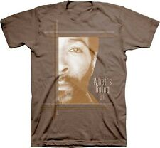 MARVIN GAYE - What's Going On - T SHIRT S-M-L-XL-2XL Brand New Official t Shirt