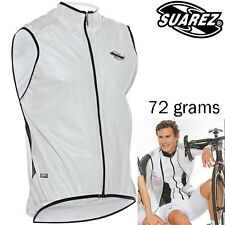 Suarez Lightweight Rain & Wind Resistant Gillet - 50% Transparent, Weighs 72g!