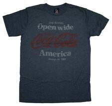 Coca Cola Open Wide America Junk Food Soft T-Shirt Tee