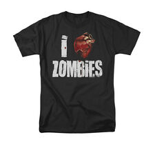 I Heart Zombies Funny Horror Undead Cool T-Shirt Tee