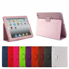 Slim Magnetic Folio PU Leather Stand Case Cover for Apple iPad 2/3/4 2nd 3rd 4th