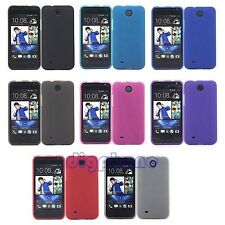 Matte TPU Silicone Gel Case Cover For HTC Desire 300 301e 301s Z3