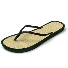 Womens Bamboo Sandal Flip Flops Light Flats Beach Summer Shoe Comfort Thongs New