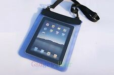"Blue Waterproof Dry Bag Pouch Case Cover FOR PC Tablet Ebook Reader 9"" 9in 2014"