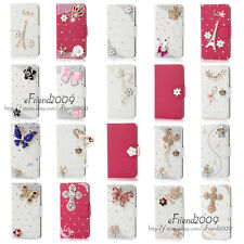 Hot Fashion Style Bling Diamond Wallet PU Leather Case For Sony Xperia Z1 L39H