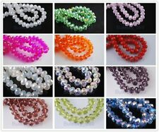 99 Charm 3x2mm Rondelle Faceted Glass Crystal Finding Spacer Loose Beads 33color