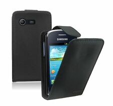 Leather Flip Case Cover Pouch for Samsung Galaxy Star GT-S5282 Dual SIM +2 FILMS