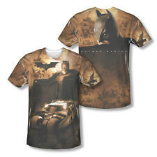 Batman Begins Movie Batmobile Tumbler Picture Sublimation All-Over T-shirt Top