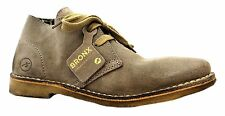 Bronx 44040-c Women's Taupe Low Heel Suede Ankle Desert Boots New