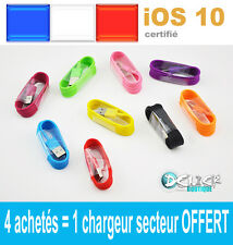 CABLE USB CHARGEUR RECHARGE SYNC CHARGER  iPHONE 5/S/C iPAD mini/Air  iTOUCH 5
