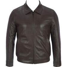 Wilsons Leather Mens Lamb Bomber Jacket