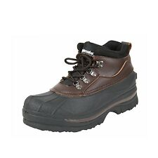 """Cold Weather Duck Boot 5"""" High- Keep Feet Warm & Dry - Brown"""