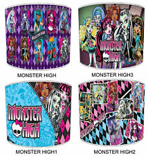 Monster High Children`s Table Lampshades Or Ceiling Lights shades Lamp Shades