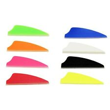 "1,3,12,36,50,100 Pack, Fusion Vanes 1.5"" Arrow Fletching MIX-N-MATCH 8 COLORS!!"