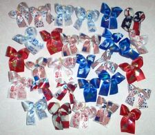 Dog Grooming Bows July 4th Patriotic Dog Bows Poodle Yorkie Shih tzu Maltese New