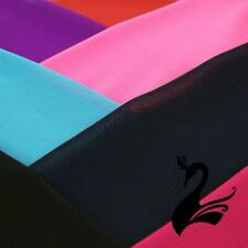 Chiffon Polyester Fabric W112cm - Plain (Price per 1m) - Dance Costumes