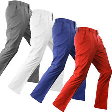 Ian Poulter IJP Design Mens Power Stretch Tech Golf Trousers Water Repellent