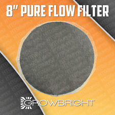 """8"""" PURE FLOW DUCT BUG DEFENDER SCREEN ACTIVE CARBON INSERT EIGHT INCH INLINE FAN"""