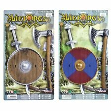 Viking Series Season Saxons Sword Axe and Shield Toy set Warrior Role Play