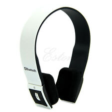 Wireless Stereo Bluetooth Headset Headphone For iPhone Samsung Tablet Laptop