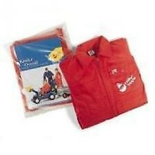 ROLLY TOYS CHILDRENS RED OVERALLS GARDEN PLAY WEAR - IDEAL FOR PEDAL TRACTOR