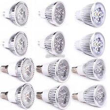 9W 12W 15W MR16 E14 LED Spotlight Lamp Spot Lumières Blanc chaud froid Ampoule