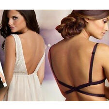 Women's Backless V Conversion Solution Low Back Bra Strap Converter Extender
