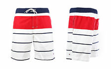 TOMMY HILFIGER BOARDSHORT BADESHORT SURFSHORT BADEHOSE STRIPES  ALL SIZES