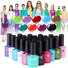 Full Color Soak-off UV LED Gel Polish Long-lasting Nail Art Primer Top Coat Tips