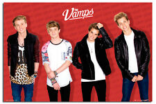 The Vamps Group Red Large Maxi Wall Poster New - Laminated Available