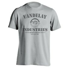 VANDELAY INC. funny cool tv show parody awesome retro new MENS T-Shirt GRAY