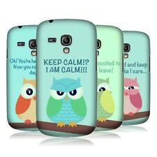 HEAD CASE MEAN OWLS PROTECTIVE COVER FOR SAMSUNG GALAXY S3 III MINI I8190