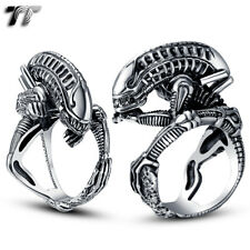 High Quality TTstyle 316L Stainless Steel Alien Ring Size 8-14 (RZ07)