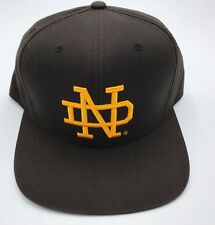 NCAA Notre Dame Fighting Irish Mitchell and Ness Fitted Cap Hat M&N NEW!!