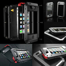 Aluminum Metal Gorilla Water/ Shock/Dust Proof Cover Case for iPhone 4 4S 5 5S