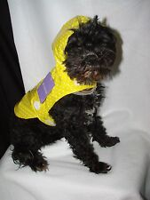 Dog Rain Coat XS-LARGE NEW Polka dot, excelent quality see e-bay store for more