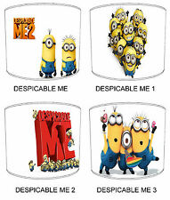 Despicable Me Table Lamp shades Ideal To Match Children`s Bedding & Curtains