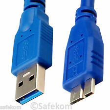 HI Speed USB 3.0 A Male to B Micro Data Sync HDD Hard Drive Cable 1M 1.5M 2M 3M