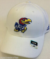 NCAA Kansas Jayhawks Adidas Structured Curve Brim Cap Hat NEW!
