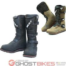 WULF TRIALS MX OFF ROAD ENDURO WULFSPORT MOTOCROSS BIKE TRAILS LEATHER BOOTS